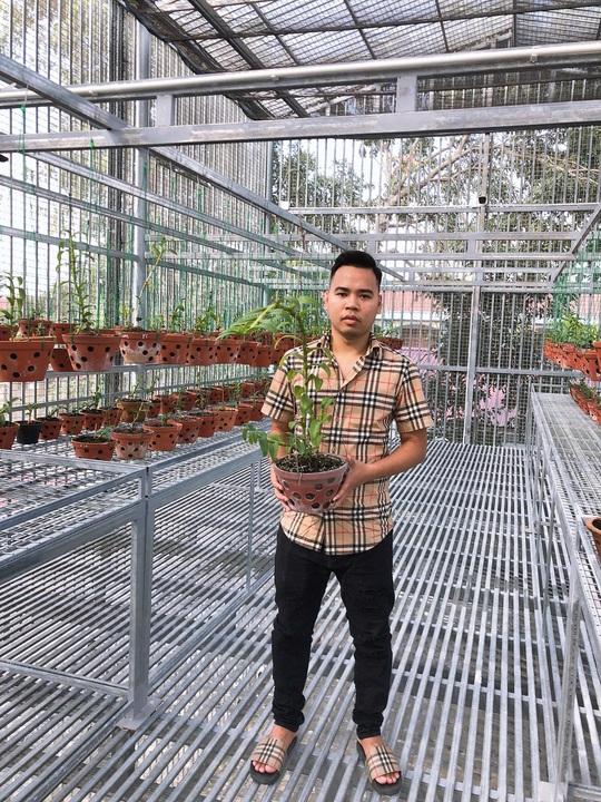 Nam Marboro và cơ duyên với nghề trồng hoa phong lan - Ảnh 1.