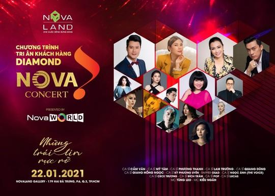 """Tiếp nối chuỗi sự kiện tri ân, Novaland """"chiêu đãi"""" đêm nghệ thuật đỉnh cao Nova Concert - Ảnh 2."""