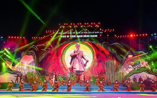 Thủ tướng dự Lễ đón nhận Bằng xếp hạng Di tích lịch sử Quốc gia Khu di tích Bạch Đằng Giang - Ảnh 1.