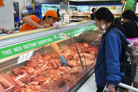 TP HCM bảo đảm nguồn thịt heo Tết - Ảnh 1.