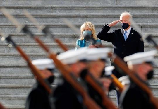 Ông Biden đến Nhà Trắng với tư cách tổng thống - Ảnh 6.