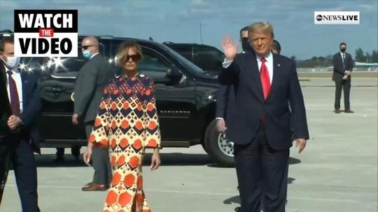 Chuyện hậu trường ngày ông Trump rời Nhà Trắng - Ảnh 6.