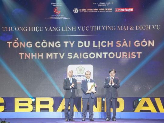 Saigontourist Group được trao tặng giải thưởng Thương hiệu Vàng TP HCM năm 2020 - Ảnh 1.