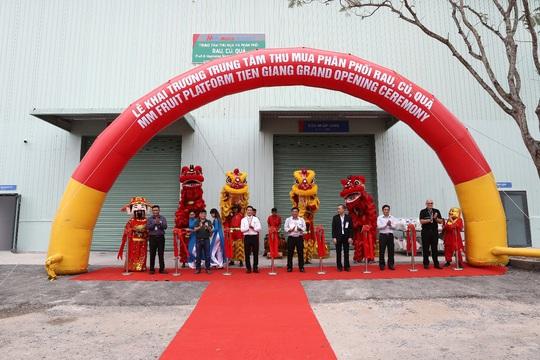 MM Mega Market Việt Nam khai trương Trung tâm thu mua và phân phối rau, củ, quả tại Tiền Giang - Ảnh 1.