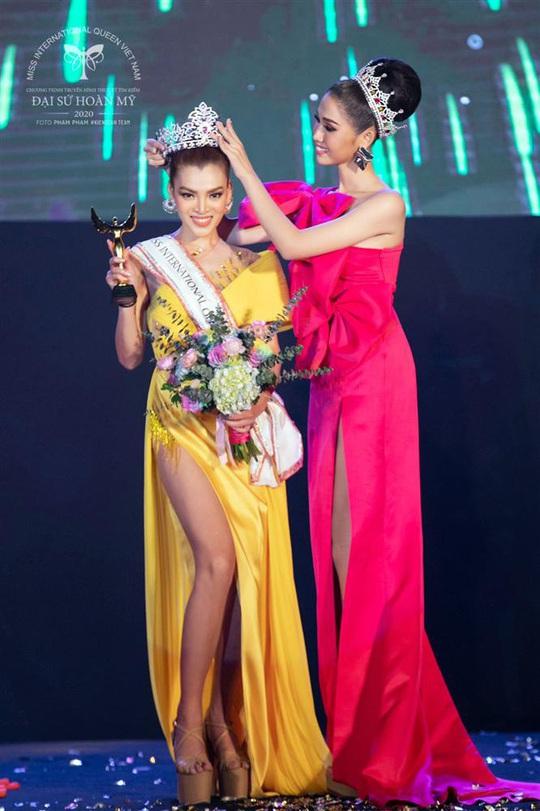Cận cảnh nhan sắc tân Hoa hậu Chuyển giới Việt Nam - Ảnh 4.