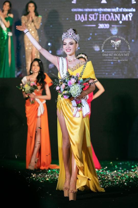 Cận cảnh nhan sắc tân Hoa hậu Chuyển giới Việt Nam - Ảnh 1.