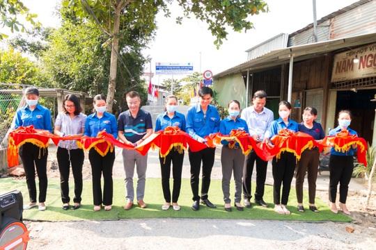 Khang Điền trao tặng 2 cây cầu nông thôn tại tỉnh Tiền Giang - Ảnh 2.