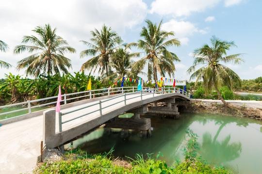 Khang Điền trao tặng 2 cây cầu nông thôn tại tỉnh Tiền Giang - Ảnh 4.