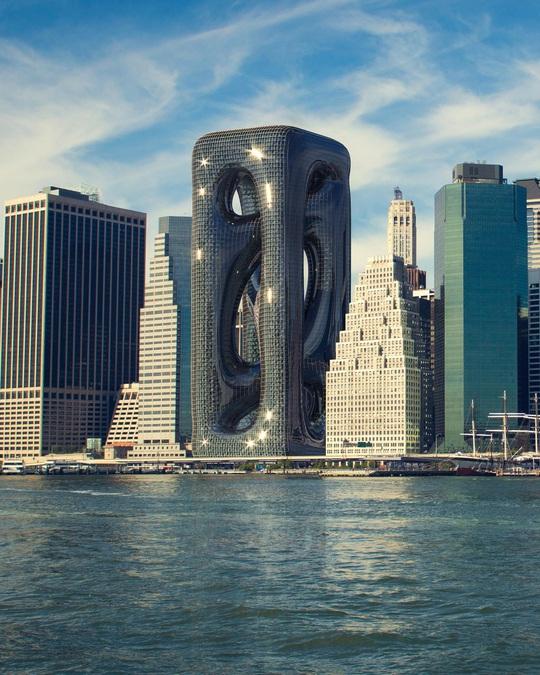 Những thiết kế kiến trúc cao ốc táo bạo - Ảnh 1.