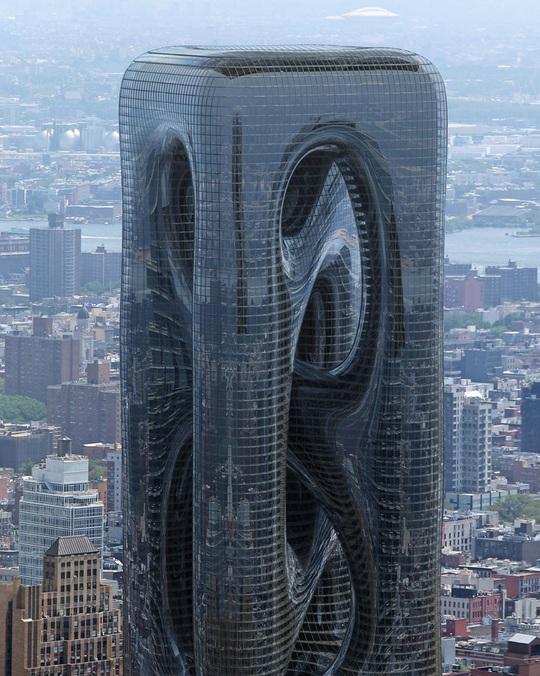 Những thiết kế kiến trúc cao ốc táo bạo - Ảnh 2.