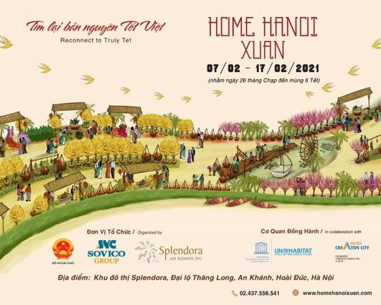 Đường hoa Home Hanoi Xuân 2021 sắp xuất hiện tại Hà Nội - Ảnh 1.
