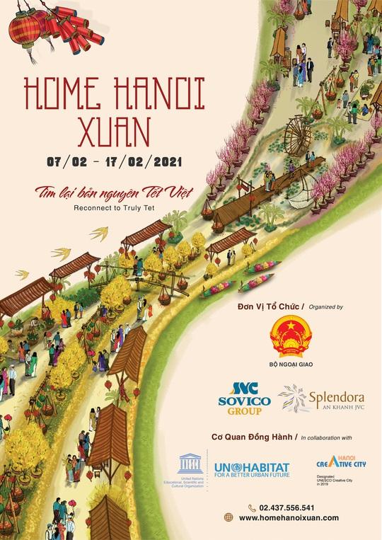 Đường hoa Home Hanoi Xuân 2021 sắp xuất hiện tại Hà Nội - Ảnh 2.