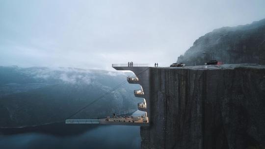 Những thiết kế kiến trúc cao ốc táo bạo - Ảnh 4.