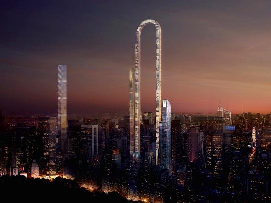 Những thiết kế kiến trúc cao ốc táo bạo - Ảnh 6.
