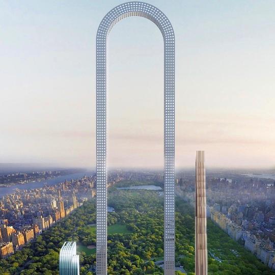 Những thiết kế kiến trúc cao ốc táo bạo - Ảnh 8.