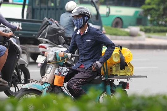 Lo ô nhiễm từ khí thải xe máy - Ảnh 1.