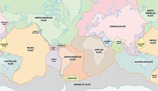 Sốc: Vỏ Trái Đất tách đôi, đẩy 3 lục địa Mỹ - Âu - Phi ra xa nhau - Ảnh 2.