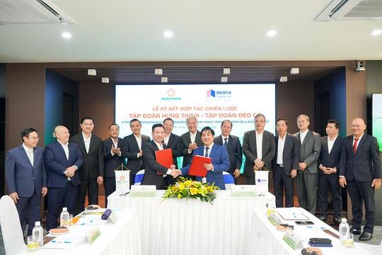 Tập đoàn Hưng Thịnh và Tập đoàn Đèo Cả ký kết hợp tác chiến lược - Ảnh 1.