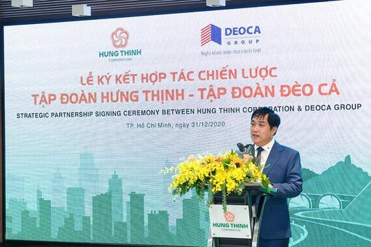 Tập đoàn Hưng Thịnh và Tập đoàn Đèo Cả ký kết hợp tác chiến lược - Ảnh 2.