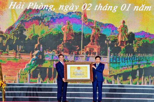 Thủ tướng dự Lễ đón nhận Bằng xếp hạng Di tích lịch sử Quốc gia Khu di tích Bạch Đằng Giang - Ảnh 2.