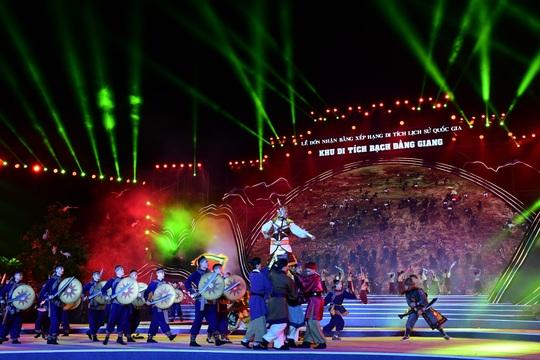 Thủ tướng dự Lễ đón nhận Bằng xếp hạng Di tích lịch sử Quốc gia Khu di tích Bạch Đằng Giang - Ảnh 5.