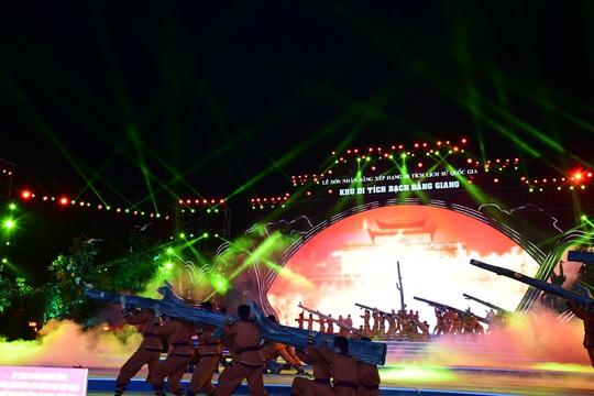 Thủ tướng dự Lễ đón nhận Bằng xếp hạng Di tích lịch sử Quốc gia Khu di tích Bạch Đằng Giang - Ảnh 7.