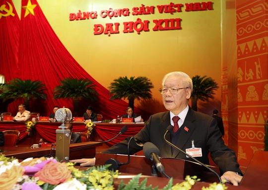 Tổng Bí thư, Chủ tịch nước Nguyễn Phú Trọng tái đắc cử Trung ương khóa XIII - Ảnh 1.