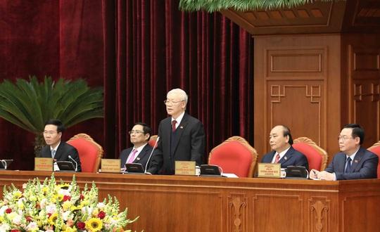 Chùm ảnh: Tổng Bí thư, Chủ tịch nước Nguyễn Phú Trọng tái đắc cử - Ảnh 3.