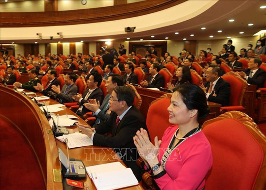 Chùm ảnh: Tổng Bí thư, Chủ tịch nước Nguyễn Phú Trọng tái đắc cử - Ảnh 10.