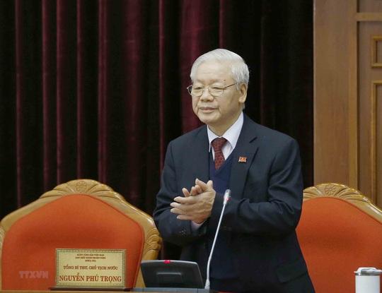 Chùm ảnh: Tổng Bí thư, Chủ tịch nước Nguyễn Phú Trọng tái đắc cử - Ảnh 6.