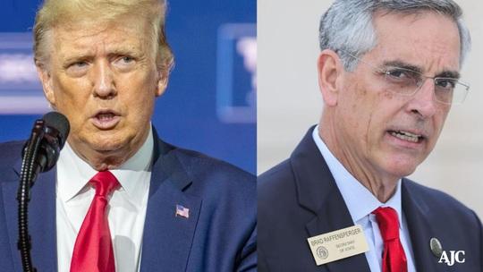 Lùm xùm quanh cuộc gọi của Tổng thống Trump với bang Georgia lan rộng - Ảnh 1.