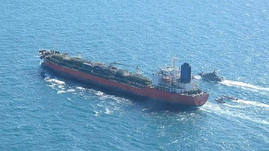 Hàn Quốc điều lực lượng quân sự đến nơi tàu dầu bị Iran bắt - Ảnh 1.