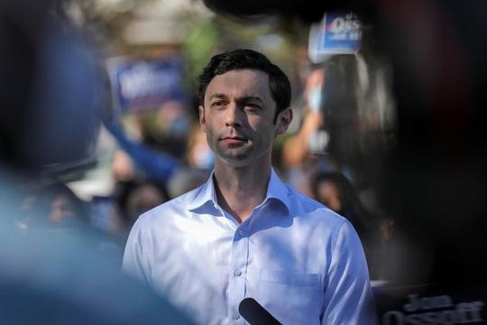 Đảng Dân chủ đang vượt Đảng Cộng hòa trong cuộc đua Thượng viện Mỹ - Ảnh 2.