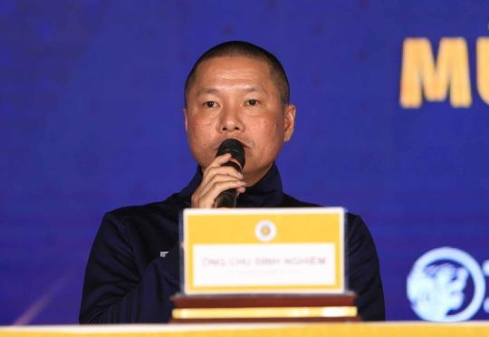 HLV Chu Đình Nghiêm: Hà Nội FC sẽ gặp nhiều khó khăn khi đối đầu CLB HAGL của Kiatisuk - Ảnh 1.