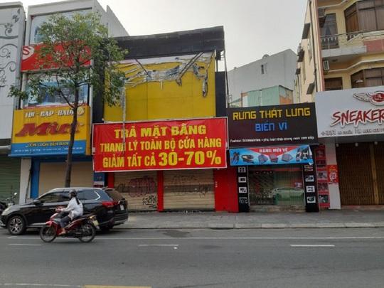 """TP HCM: Thị trường cho thuê mặt bằng chưa thoát cảnh """"ế ẩm"""" - Ảnh 1."""