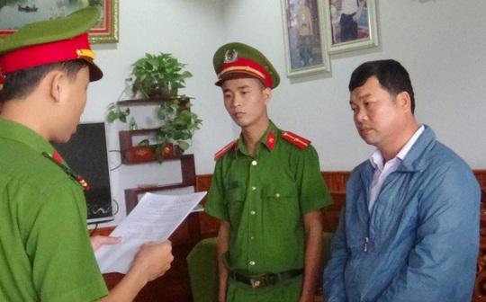Khởi tố nguyên chủ tịch xã cùng 2 cán bộ ở Quảng Nam - Ảnh 1.