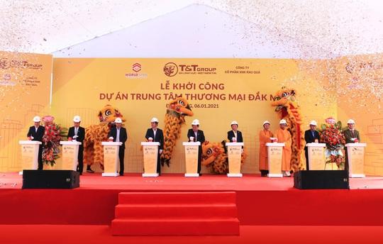 WorldSteel Group: Khởi công xây dựng trung tâm thương mại tại Đắk Nông - Ảnh 1.