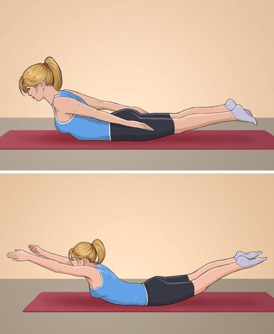 10 tư thế yoga trị đau lưng hiệu quả tại nhà - Ảnh 6.
