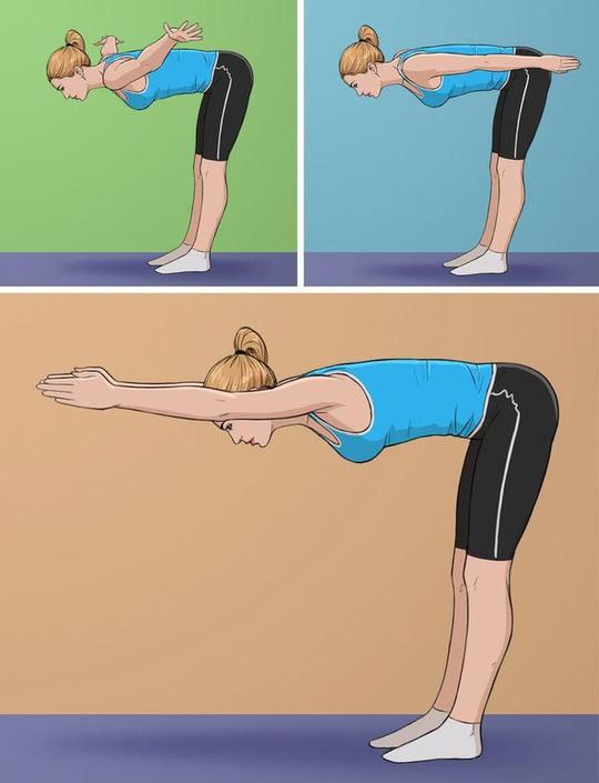 10 tư thế yoga trị đau lưng hiệu quả tại nhà - Ảnh 10.
