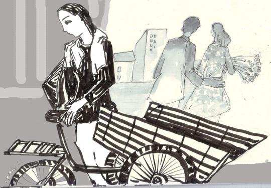 Người đàn bà đạp ba gác - Ảnh 1.