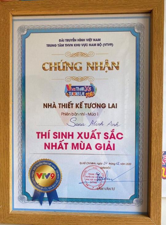 """Sena Minh Anh xuất sắc đoạt giải Quán quân cuộc thi """"Nhà thiết kế tương lai Nhí"""" - Ảnh 3."""