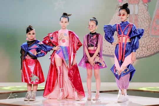 """Sena Minh Anh xuất sắc đoạt giải Quán quân cuộc thi """"Nhà thiết kế tương lai Nhí"""" - Ảnh 1."""