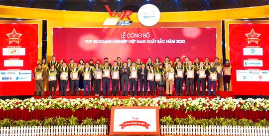 Vinh danh Top 50 doanh nghiệp Việt Nam xuất sắc năm 2020 - Ảnh 1.