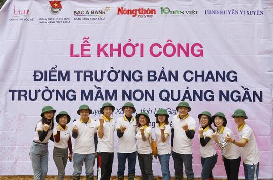 Lần đầu góp sức xây trường học - trải nghiệm khó quên tại Bản Chang - Ảnh 8.