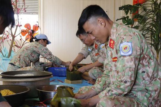 Tết đặc biệt của những người lính mũ nồi xanh Việt Nam tại Nam Sudan - Ảnh 5.
