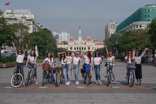 Mốt chơi xe đạp của người trẻ Sài thành - Ảnh 3.