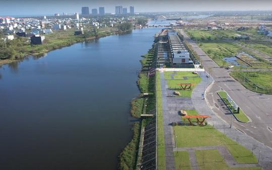 Chủ tịch UBND TP Đà Nẵng thúc tiến độ dự án nạo vét sông Cổ Cò nối Đà Nẵng – Quảng Nam - Ảnh 1.