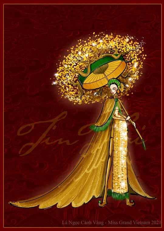 Hé lộ trang phục lạ á hậu Ngọc Thảo đem tranh tài ở Miss Grand Internation 2020 - Ảnh 1.