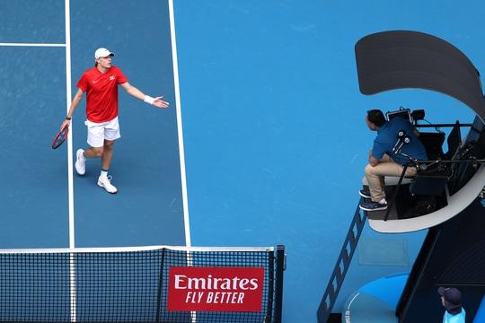 Djokovic thắng trận ra quân ATP Cup 2021 - Ảnh 4.