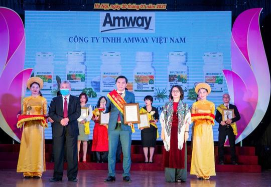 """Amway Việt Nam nhận giải thưởng """"Sản phẩm vàng vì sức khỏe cộng đồng"""" - Ảnh 1."""